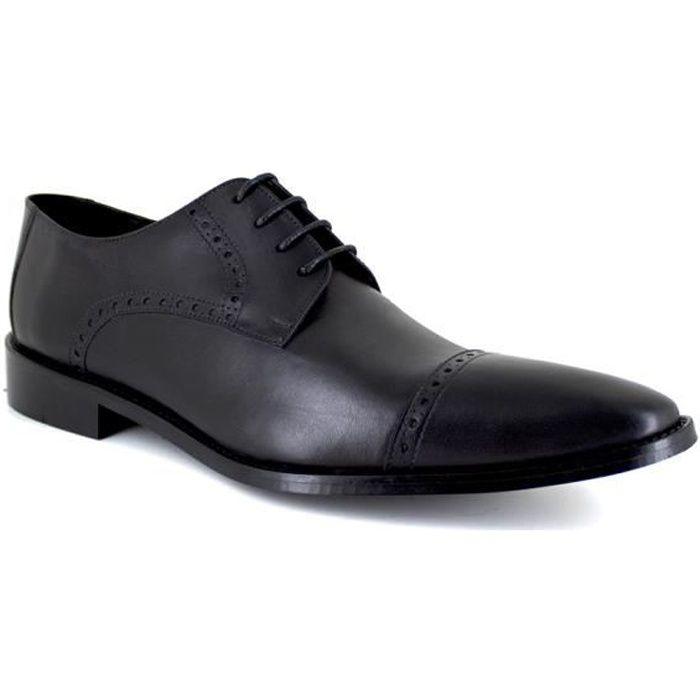 DERBY J.BRADFORD JB-GREG Noir Chaussure Homme