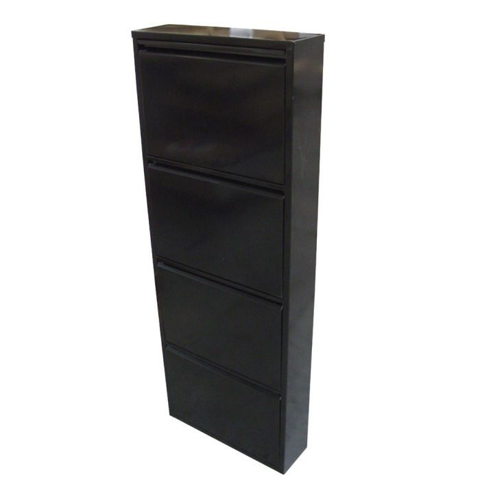 armoire chaussure metallique. Black Bedroom Furniture Sets. Home Design Ideas