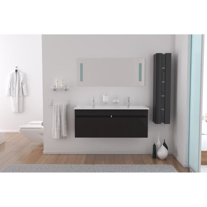 meuble salle de bain double vasque 120 cm. Black Bedroom Furniture Sets. Home Design Ideas