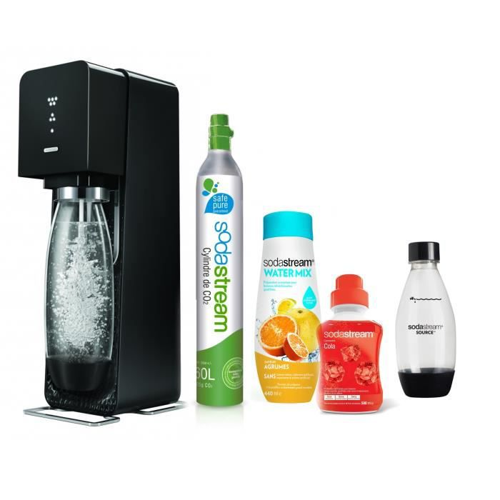 m ga pack sodastream machine source noire concentr watermix agrumes concentr cola 1. Black Bedroom Furniture Sets. Home Design Ideas