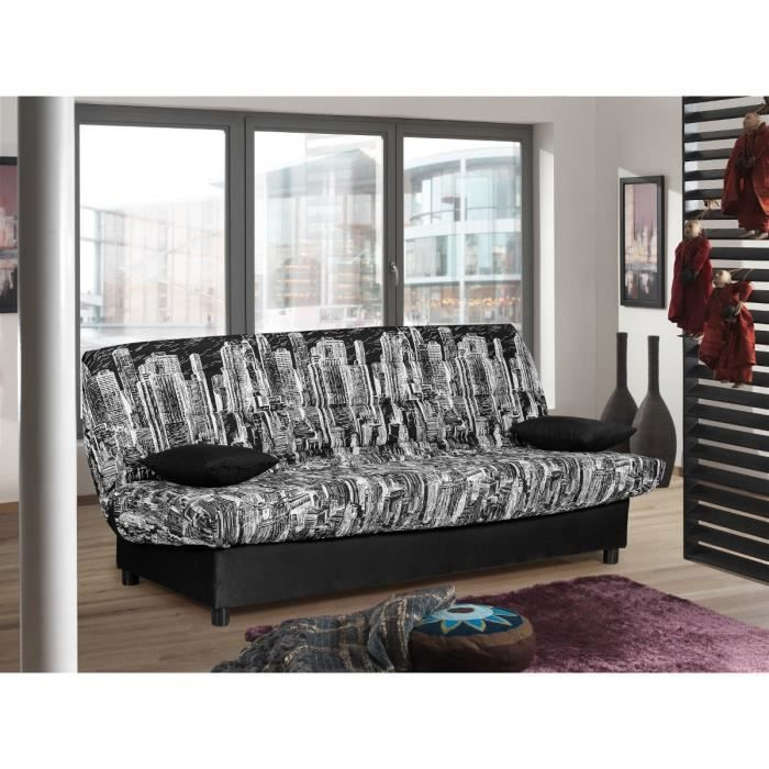 canape convertible 3 places avec coffre de rangement. Black Bedroom Furniture Sets. Home Design Ideas