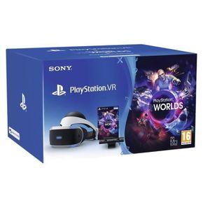 CASQUE RÉALITÉ VIRTUELLE Pack PlayStation VR MK4 : Casque PSVR + PlayStatio