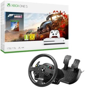 CONSOLE XBOX ONE Xbox One S 1 To Forza Horizon 4 + Volant TMX Force