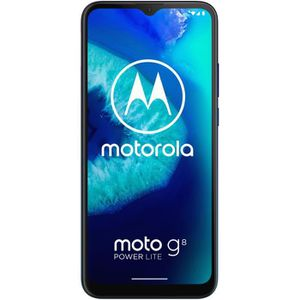 SMARTPHONE MOTOROLA G8 Power lite Bleu Royal 64 Go