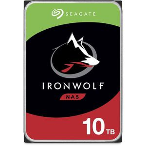 DISQUE DUR INTERNE SEAGATE - Disque dur Interne - NAS Iron Wolf - 10T