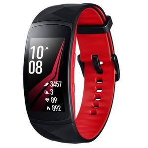 BRACELET MONTRE CONNEC. Samsung Gear Fit 2 Pro Large Rouge