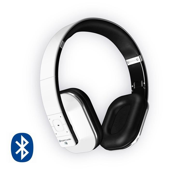 oxygen sool casque audio bluetooth blanc achat vente. Black Bedroom Furniture Sets. Home Design Ideas