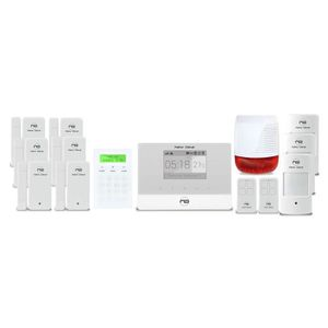 KIT ALARME NEW DEAL Pack alarme maison GSM Protect Live Pro-L