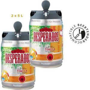 BIÈRE DESPERADOS Fût de bière Blonde Téquila - Compatibl