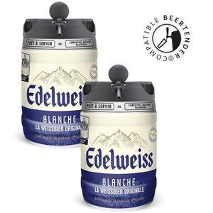 BIÈRE EDELWEISS Fût de bière blanche - Compatible Beerte