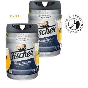 BIÈRE FISCHER TRADITION Fût de bière blonde - CompatIble