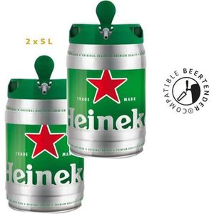 BIÈRE HEINEKEN Fût de bière Blonde - Compatible Beertend