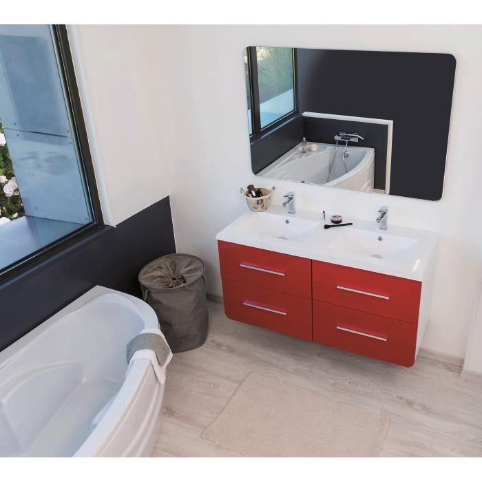 Ensemble salle de bain vasque en verre