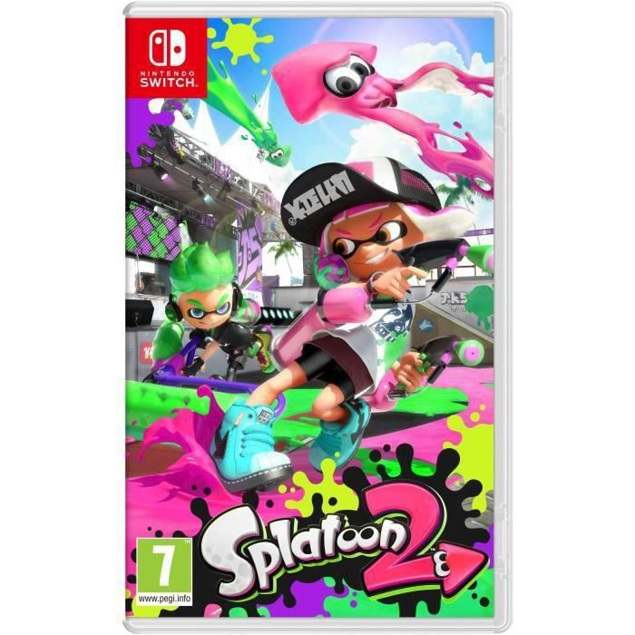 splatoon 2 jeu switch achat vente sortie jeux nintendo. Black Bedroom Furniture Sets. Home Design Ideas