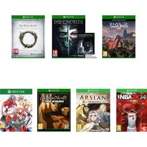 JEUX XBOX ONE Pack de 8 jeux : The Elder Scrolls + Agatha + NBA