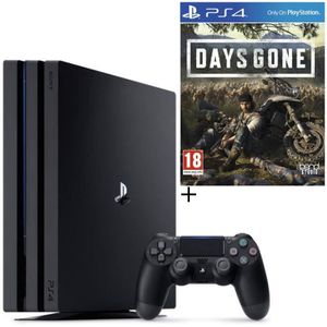 CONSOLE PS4 NOUVEAUTÉ Pack PS4 Pro 1 To Noire + Days Gone