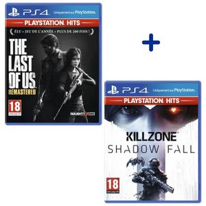 JEU PS4 Pack 2 Jeux PS4 PlayStation Hits : The Last of Us