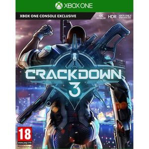 JEU XBOX ONE Crackdown 3 Jeu Xbox One