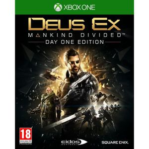 JEU XBOX ONE Deus Ex Mankind Divided Augmented Edition - Jeu Xb