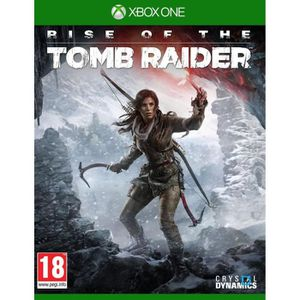 JEUX XBOX ONE Rise Of The Tomb rider - Jeu Xbox One