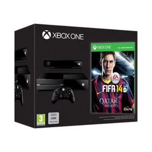 CONSOLE XBOX ONE Console XBOX One Edition Day One + Jeu FIFA 14