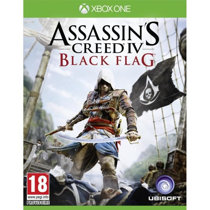 SORTIE JEUX XBOX ONE Assassin's CreeD IV : Black Flag Jeu XBOX One