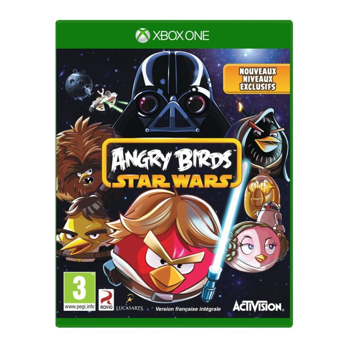 JEUX XBOX ONE Angry Birds Star Wars Jeu XBOX One