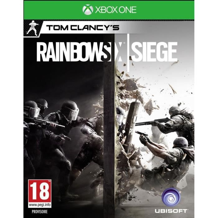 rainbow six siege jeu xbox one avis test soldes d s le 10 janvier cdiscount. Black Bedroom Furniture Sets. Home Design Ideas