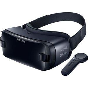 Lunettes connectées Samsung casque Gear VR avec contrôleur gris