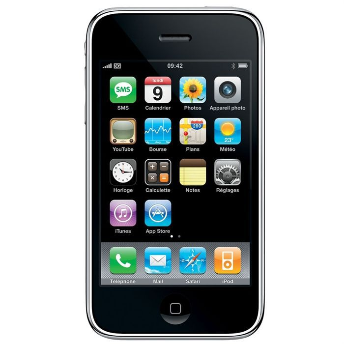 iphone 3gs 32go noir achat smartphone pas cher avis et. Black Bedroom Furniture Sets. Home Design Ideas