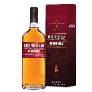 WHISKY BOURBON SCOTCH Auchentoshan 14 ans Blood Oak 46°  70cl