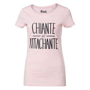 T-SHIRT T-Shirt à message Femme