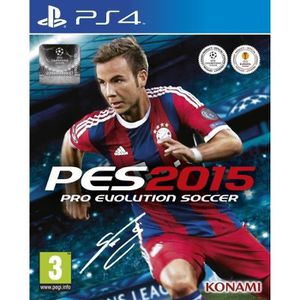 JEU PS4 PES 2015 Jeu PS4
