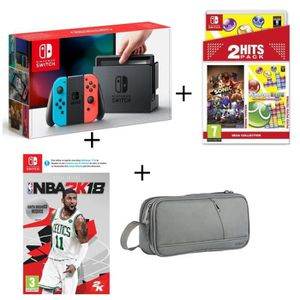 nintendo switch achat vente nintendo switch pas cher soldes d s le 10 janvier cdiscount. Black Bedroom Furniture Sets. Home Design Ideas