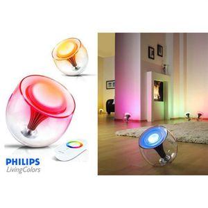 LAMPE A POSER PHILIPS LIVINGCOLORS génération 2 Crystal