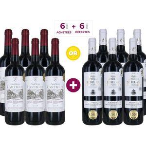VIN ROUGE 6 Château Lartigue 2018 Côtes de Bordeaux ACHETEES