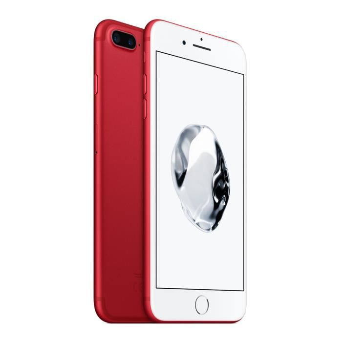 apple iphone 7 plus 128 go rouge edition special achat smartphone pas cher avis et meilleur. Black Bedroom Furniture Sets. Home Design Ideas