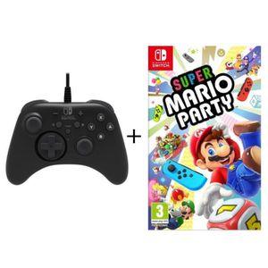 JEU NINTENDO SWITCH Super Mario Party jeu Switch + Manette pro