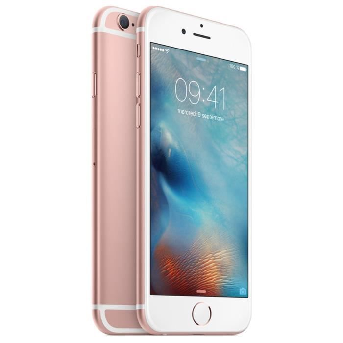 apple iphone 6s 32 go rose gold achat smartphone pas cher avis et meilleur prix cdiscount. Black Bedroom Furniture Sets. Home Design Ideas