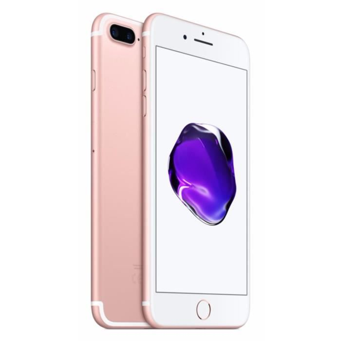 apple iphone 7 plus 128 go rose or achat smartphone pas