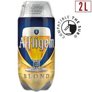 BIÈRE AFFLIGEM Bière blonde d'abbaye depuis 1074 - 2 L