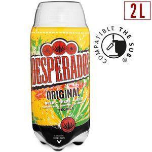 BIÈRE DESPERADOS Bière aromatisée tequila Original- 2 L