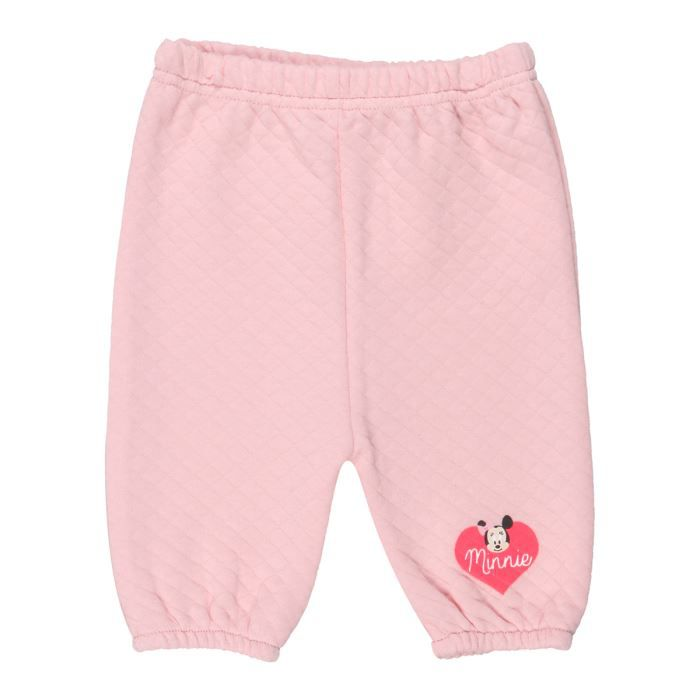 minnie baby pantalon b b fille rose achat vente pantalon cdiscount. Black Bedroom Furniture Sets. Home Design Ideas