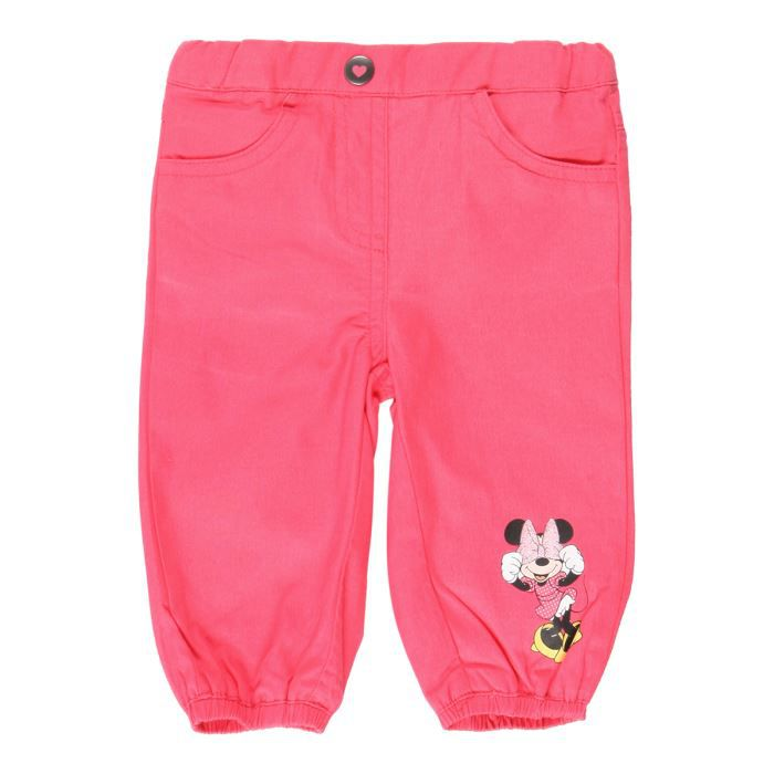 minnie pantalon b b fille fuschia achat vente pantalon minnie pantalon b b fille cdiscount. Black Bedroom Furniture Sets. Home Design Ideas
