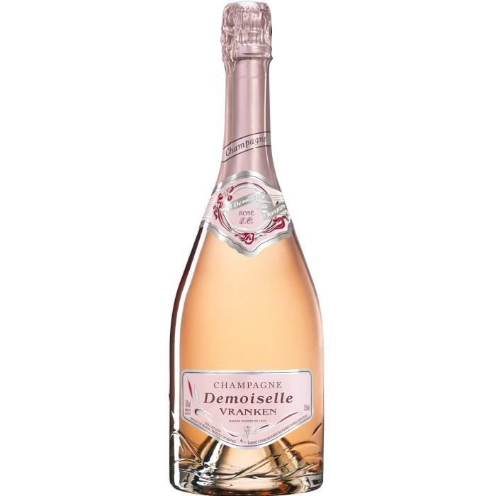 CHAMPAGNE Champagne Vranken Demoiselle Rosé - 75 cl