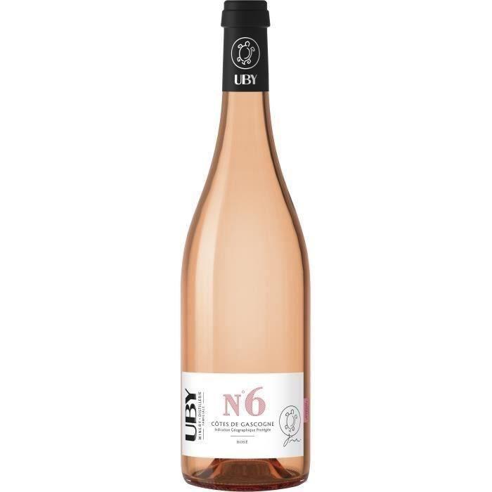 VIN ROSÉ UBY N°6 Côtes de Gascogne Rosé - Vin rosé