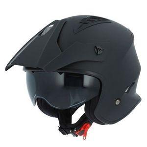 Astone Helmets Matt black S Casque de moto homologu/é pour enfant Casque moto GT2kid Casque int/égral junior