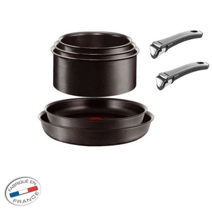 Tefal ingenio gourmet set 7 pi ces induction achat - Batterie cuisine tefal ingenio induction ...