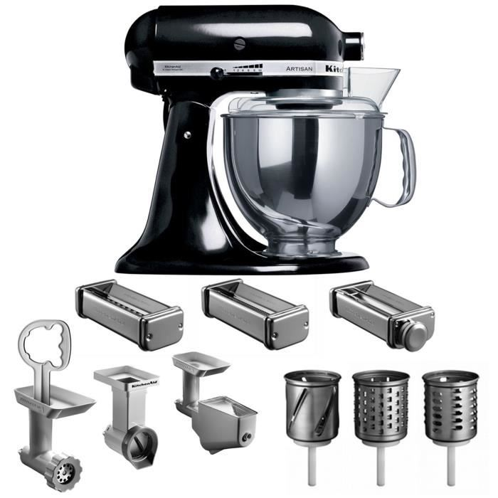 robot kitchenaid 5ksm150pseob pack expert achat vente robot multifonctions cdiscount. Black Bedroom Furniture Sets. Home Design Ideas