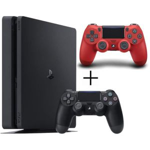 CONSOLE PS4 Pack Playstation 4 : Console PS4 500 Go Noire + Ma